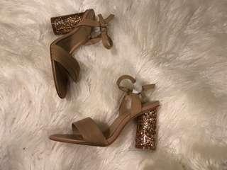 Mimco - Rose Gold Block Heels