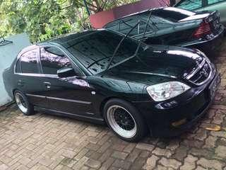 For sale Honda civic vtis 2004 autometic murah/jualmobilcepat/mobilmurah/mobilhondacivic/honda/mobil2004#JAN25