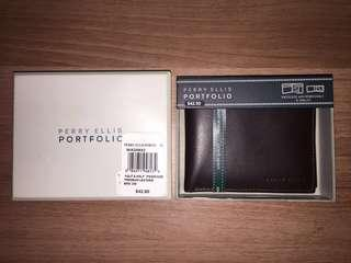 Perry Ellis Brown Wallet