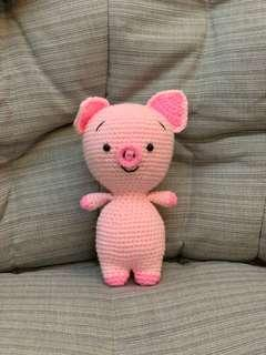 Year of the pig crochet Toy
