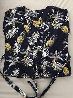 #CNY2019 Pinapple blouse