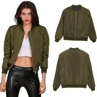 #CNY2019 BOMBER GREEN JACKET