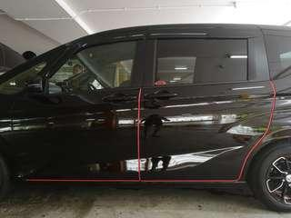Honda freed car door guard protection