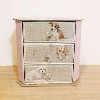 Dog Themed Mini Drawer