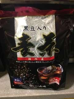 日本無糖有機黑豆茶四十包