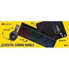 🚚 Corsair Gaming Essential (headset, keyboard, mouse, mousepad)