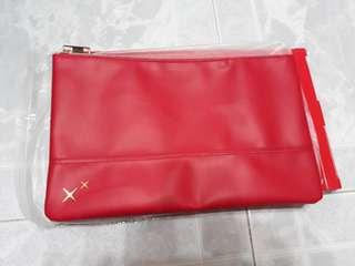 DBS CNY Red Angpow Pouch
