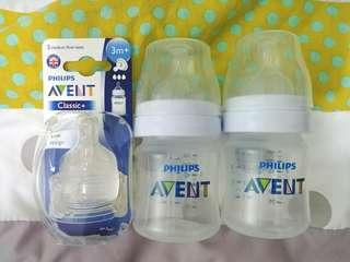 BNE AVENT Bottles and Nipple replacement