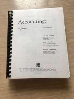 Mc Graw Hill Accounting Book (used in masters degree course)