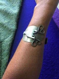 Handcrafted fork n spoon bracelet unique piece. $40 perth
