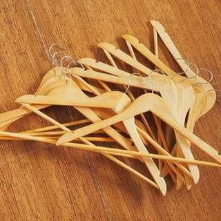 Boutique High Quality Wooden Hangers