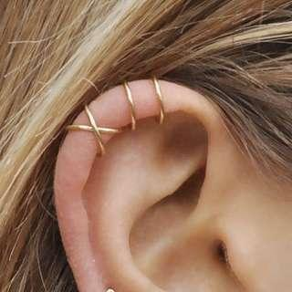 🚚 [PO] Set Of 2 Ear Cuff