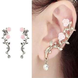 🚚 [PO] Rose Branch Anti Allegy Ear Cuff