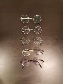 🚚 Round Pure Titanium Frames