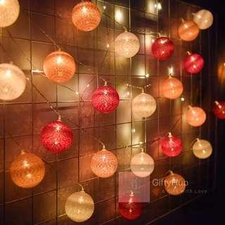 【Promotion】Woven Ball Fairy Light