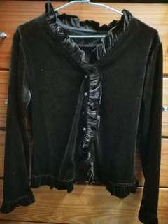 🚚 黑色毛外套