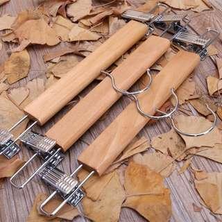 Boutique Quality Wooden Pants Hangers