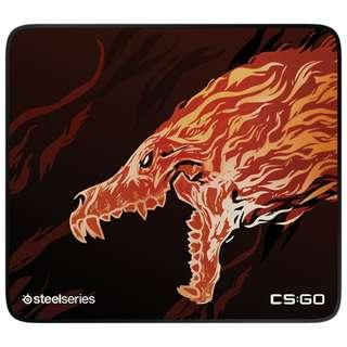 Limited edition Steelseries HOWL QCK+ Mousepad