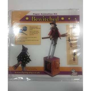 Paper Animation Kit Bewitched 摺紙可動模型