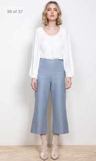 Wish the label linen pants - blue
