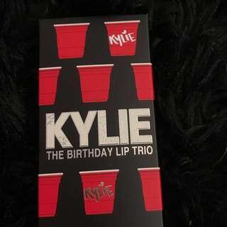 KYLIE BIRTHDAY LIP TRIO