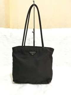 2d0fbf8722dc Authentic Prada Tessuto Nylon Long Shoulder Bag