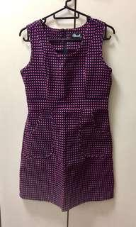 🚚 NEW YEAR CLEARANCE SALE! Sleeveless A-line polka dot dress pink and black