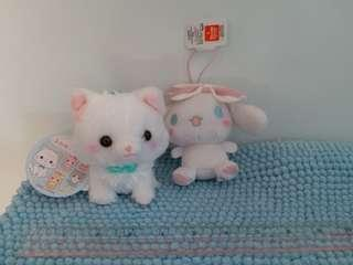 NEW Cinnamoroll & Kitten