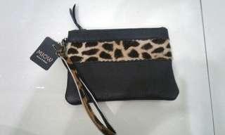 Flat Cheetah purse