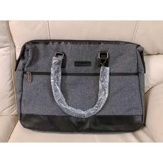 🚚 全新 質感布面手提包
