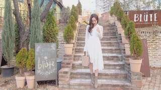 Cavn白色蕾絲裙