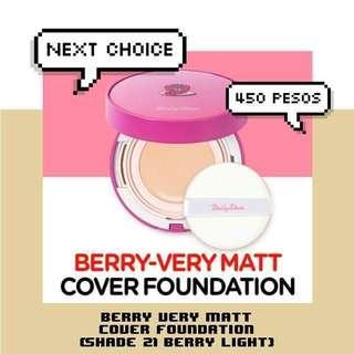 Berry-Very Matt Cover Foundation