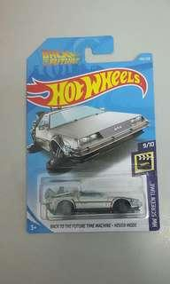 HOTWHEELS BACK TO THE FUTURE TIME MACHINE-HOVRE MODE