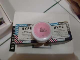Free ongkir! Hype skincare bright & glowing (night cream + day cream + glowing day cream)