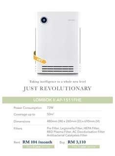 Coway LOMBOK air purifier penapis udara