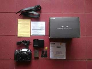 Fujifilm XT2 GS Limited Edition Garansi Resmi Hidup