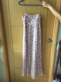 Zara summery maxi dress