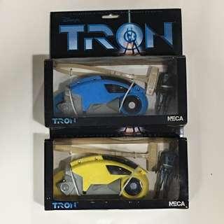 絕版 收藏系列 Tron 懷舊玩具 TRON 拉鍊車