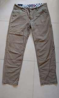 QUIKSILVER Vintage 便服褲 (淺軍綠色)