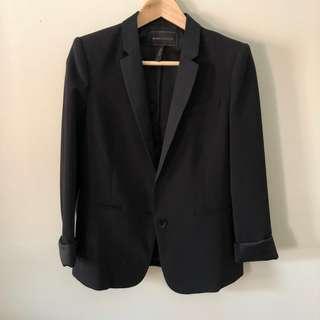 BCBG Maxazria Black Blazer (S)