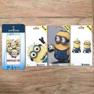 #CNY2019 iphone 5 5s garskin screen protector guard minion