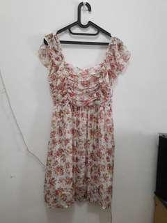 Dress bunga bunga / flower dress