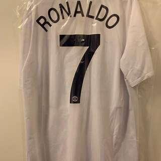 08/09 Away with UEFA Printing and UEFA Champions Badge