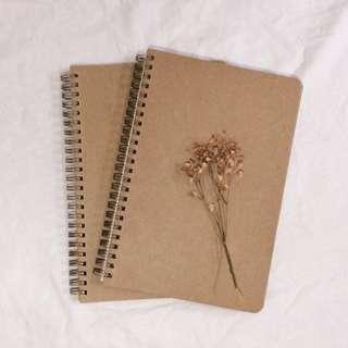 plain minimalist notebook (avail for po!!)