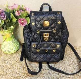 SALE!!! 100% authentic MCM quilted backpack