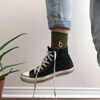 avocado socks 🥑