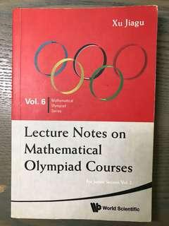 Lecture Notes on Math Olympiad Courses (Junior Vol 2)