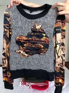 ladies top pullover