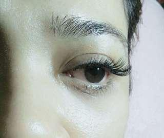 Eyelash Extension first trial promo