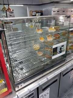 Counter top warmer display unit